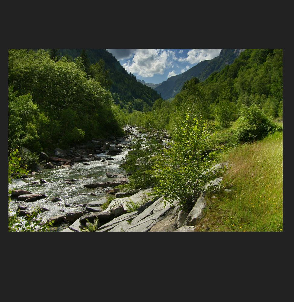 ein wildes Tal