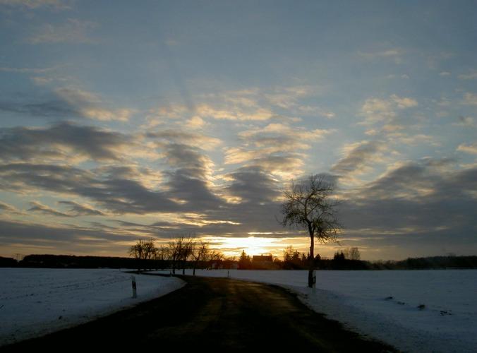 ein Winterabend