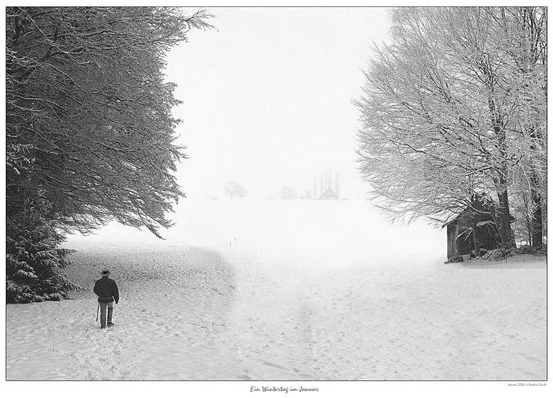 Ein Wintertag im Januar
