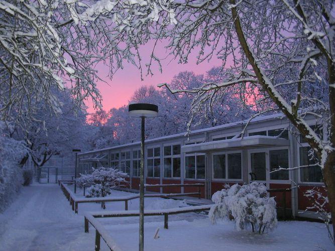 Ein Wintertag in Hamburg