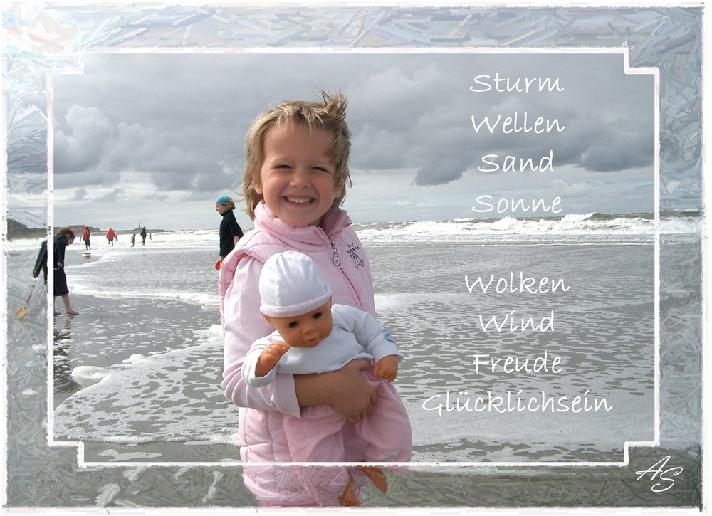 Ein Wirbelwind im Sturm