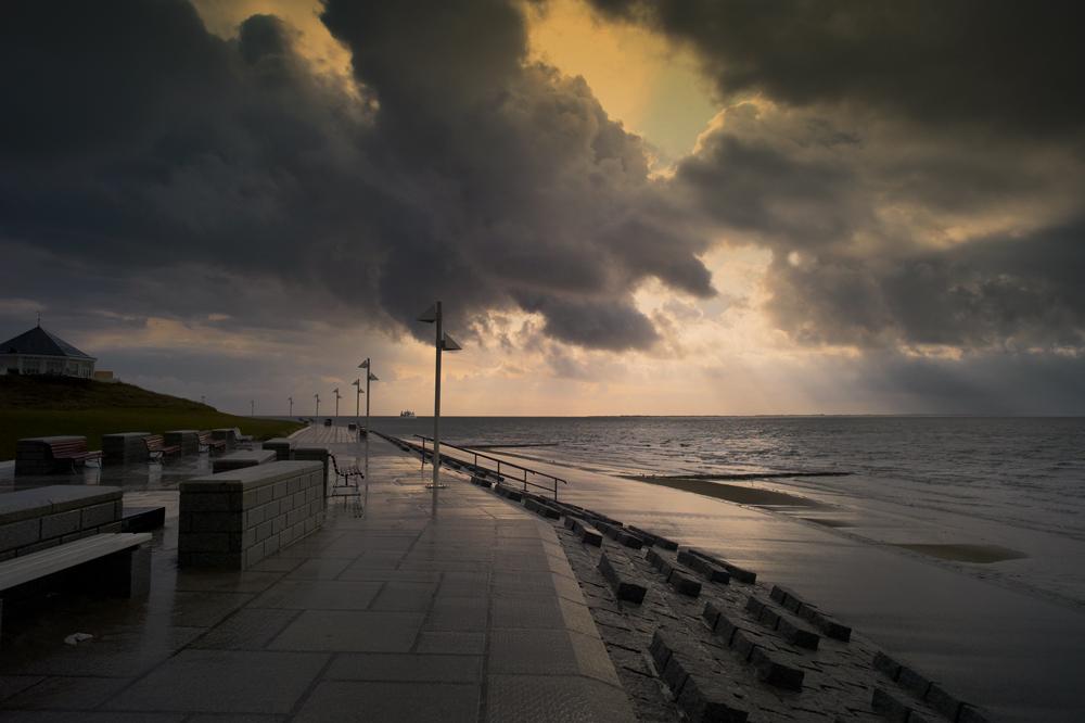 Ein Wochenende auf Norderney (6) - Schietwetter