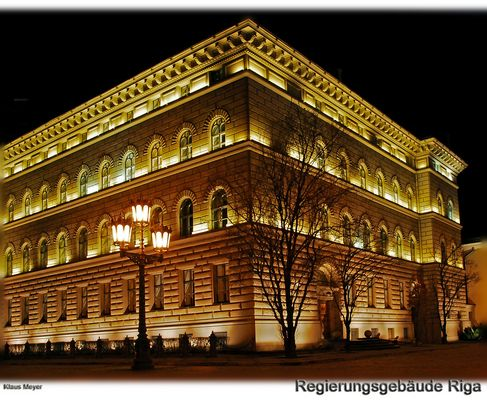 Ein Wochenende in Riga - Regierungsgebäude