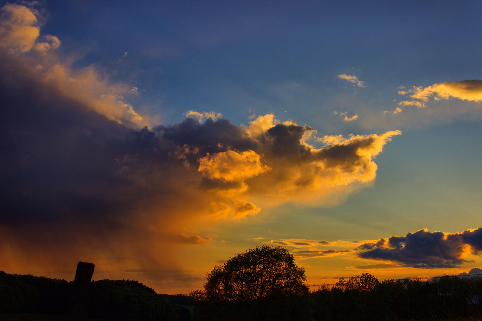 Ein Wolkendrache