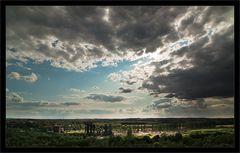 Ein wolkiger Tag