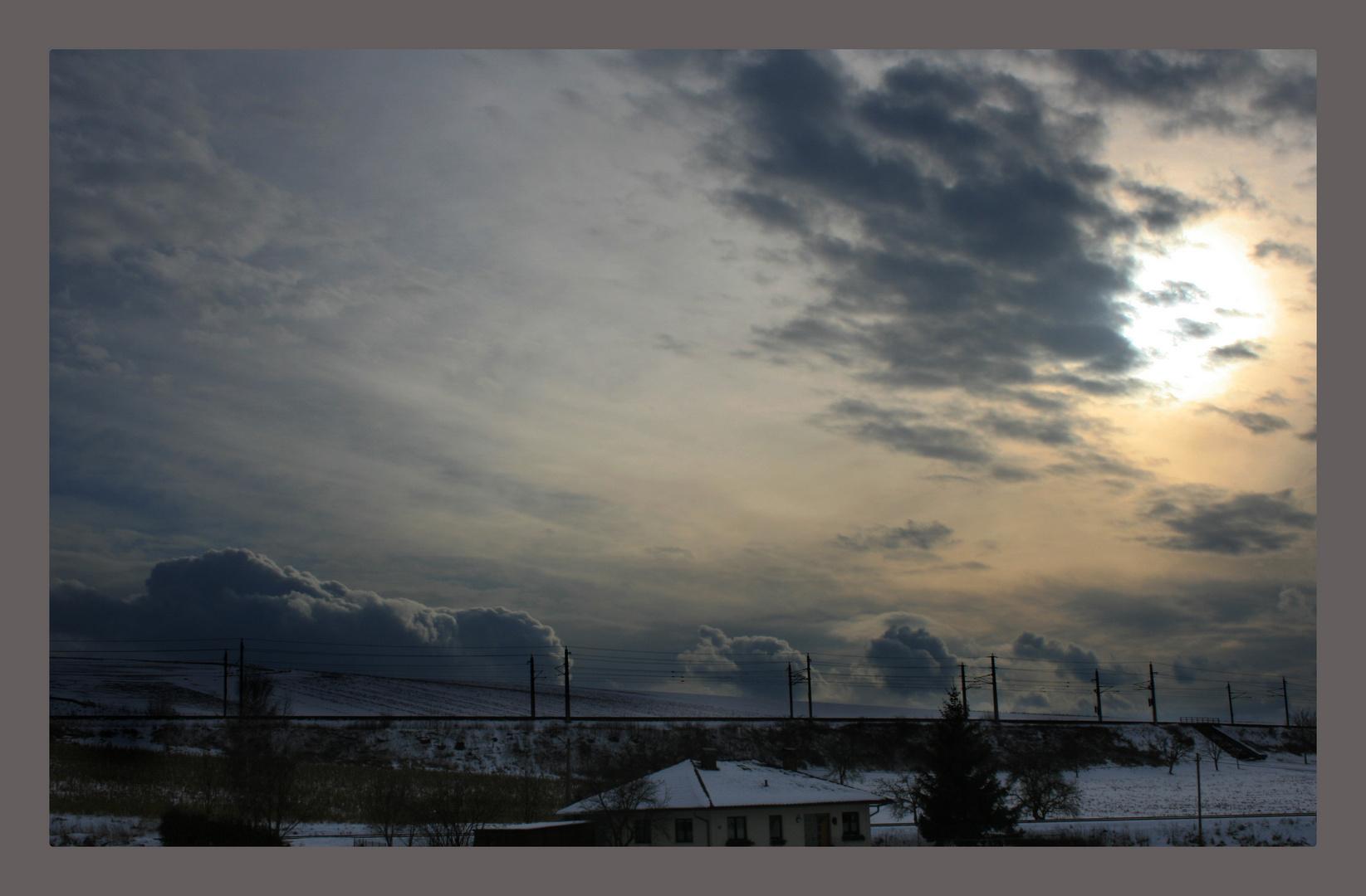 Ein wolkiger Tag...