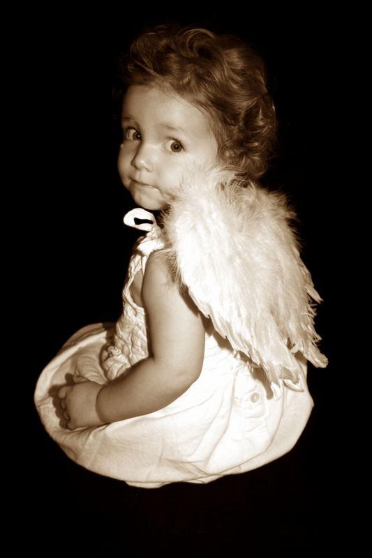 Ein wunderschöner Engel.