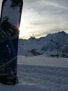 Ein wunderschöner Tag im Schnee geht zu ende ...