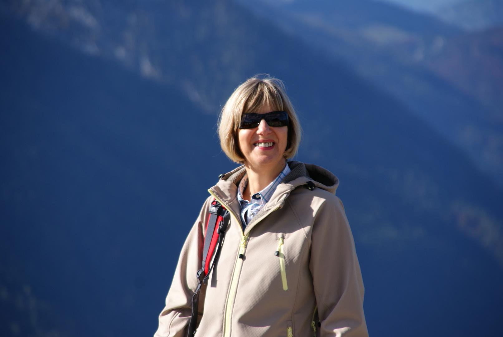 Ein wunderschöner Tag in den Alpen