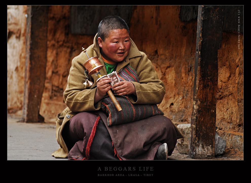 Einblick in das Leben einer Bettlerin...
