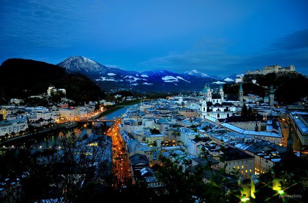 """""""Einbruch der Nacht"""" (Salzburg)"""