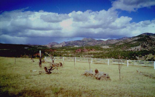 Eindruck aus den Rocky Mountains/Colorado