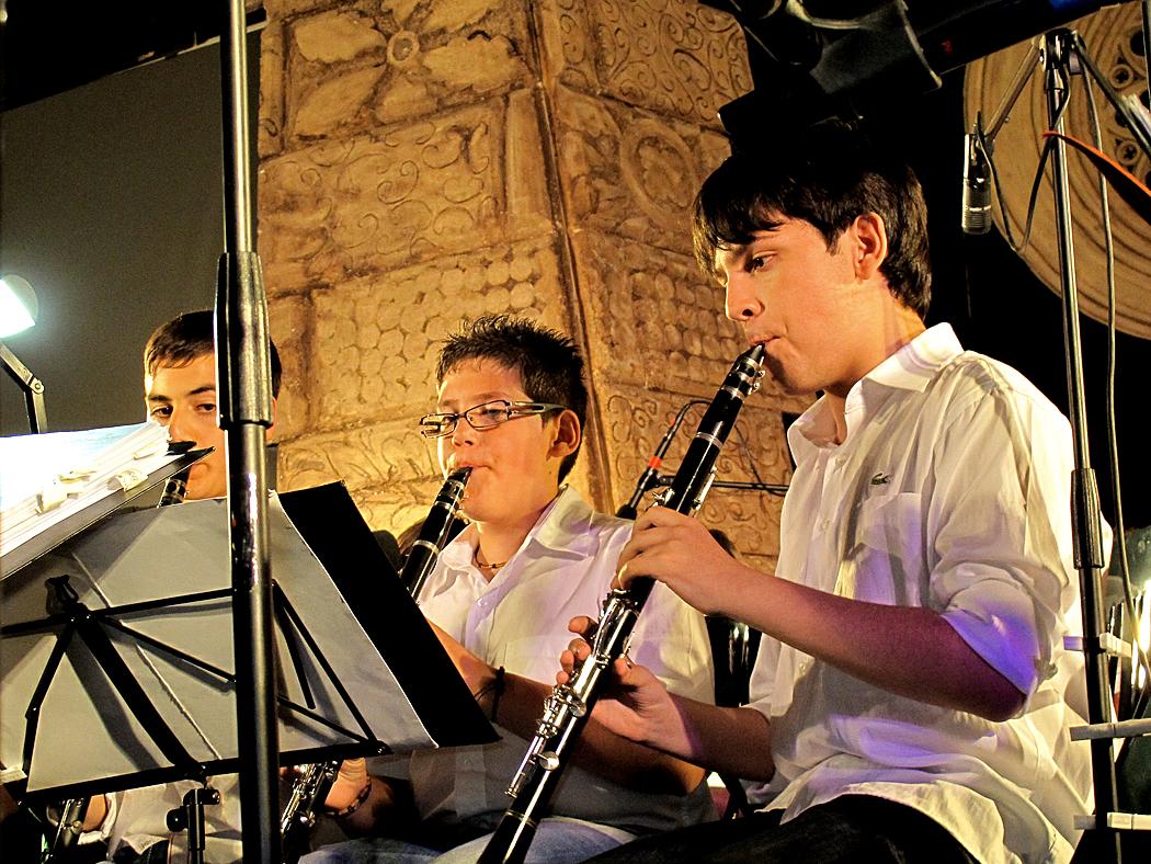 Eindrücke während eines Jugendorchesterkonzertes / Impressioni mentre un concerto della gioventù (7)