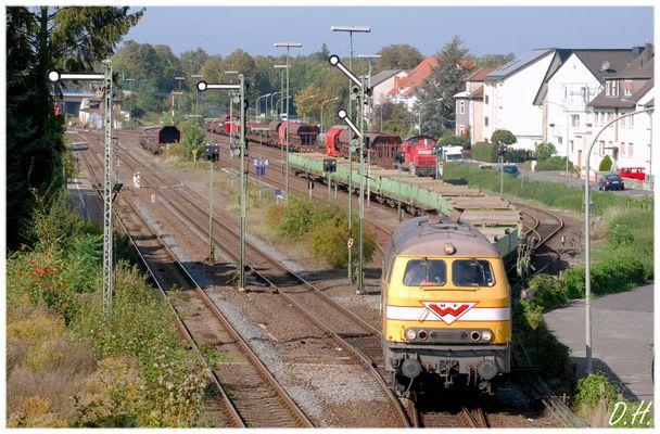 Eine 216 in Paderborn Nord...