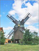 Eine alte Windmühle
