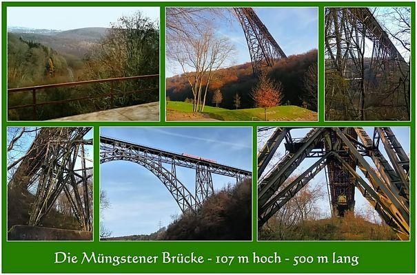 Eine bekannte Brücke - A famous bridge