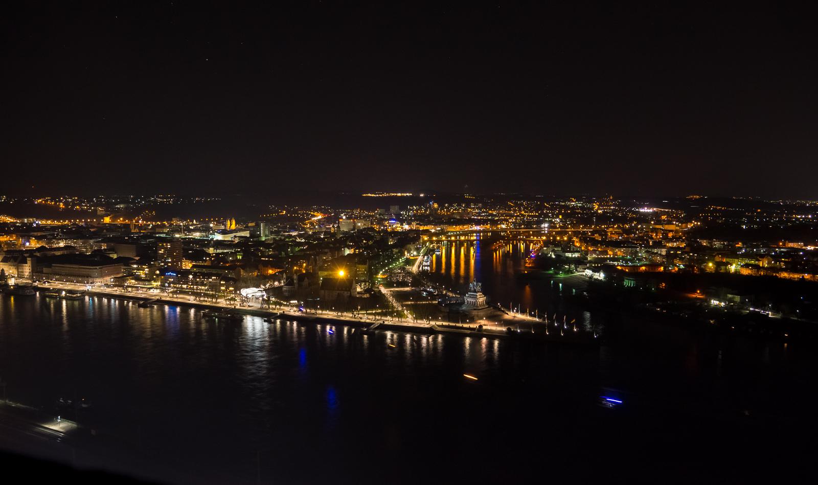 Eine bekannte Ecke in Koblenz....