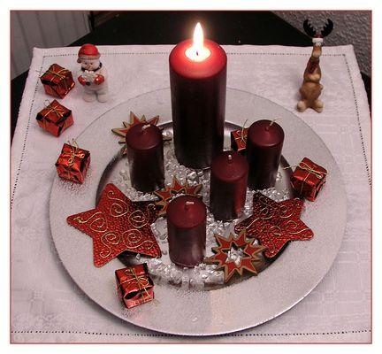 Eine besinnliche Adventszeit wünsche ich