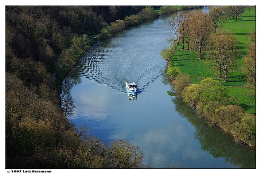 Eine Bootsfahrt die ist lustig ...