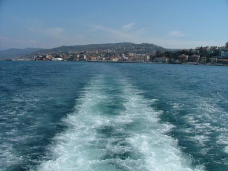 Eine Bootsfahrt...