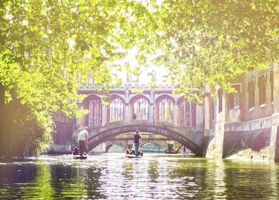 Eine Bootstour in Cambridge