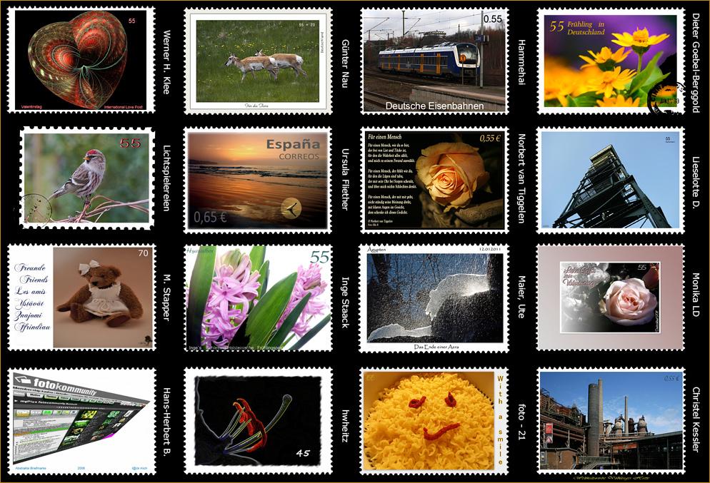 Eine Briefmarkensammlung