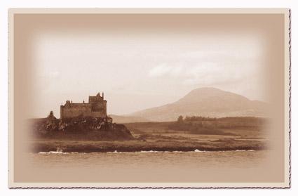 [ eine Burg in Schottland ]