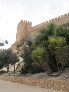 Eine Burg und Festung in Almeria