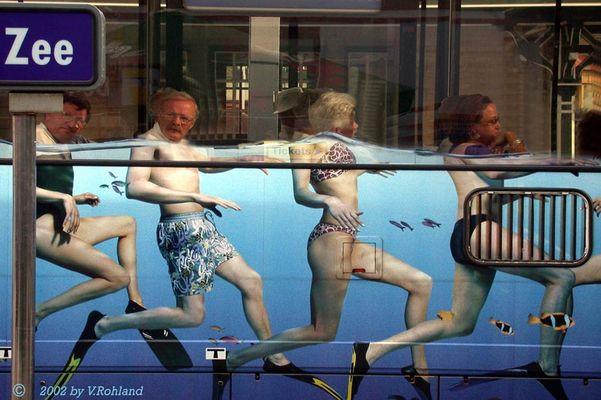 Eine Busfahrt die ist...........!!!!! , aber nur von draußen