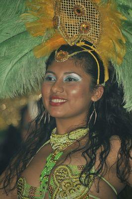 Eine der hübschesten Sambagirls