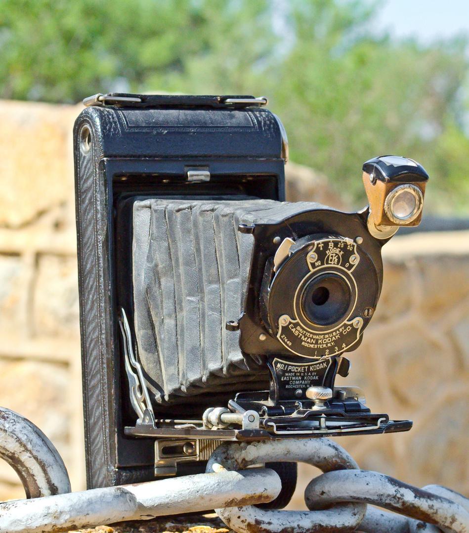 Eine Eastman Kodak aus alten Tagen.