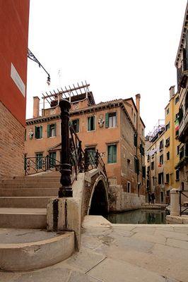 Eine Ecke in Venedig