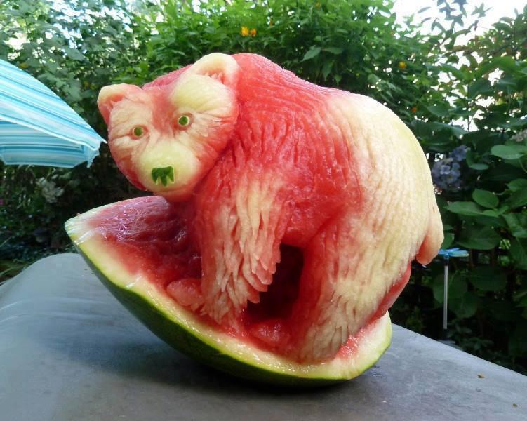 eine Eisbärmelone