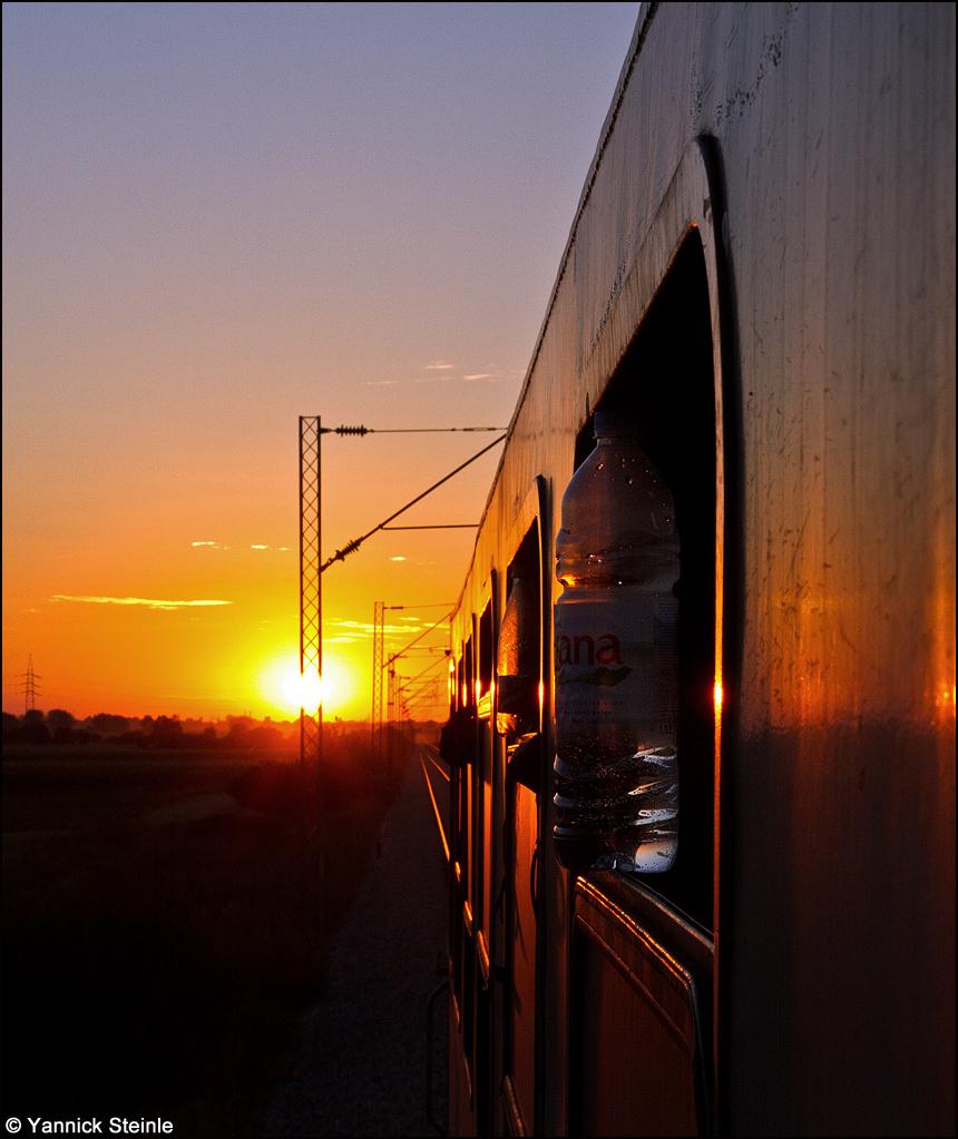 Eine entspannte Fahrt in den Abend