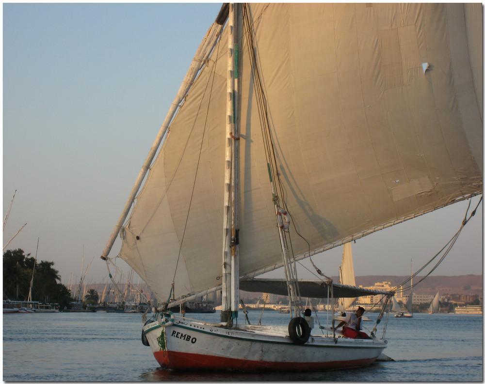 eine Fahrt auf dem Nil