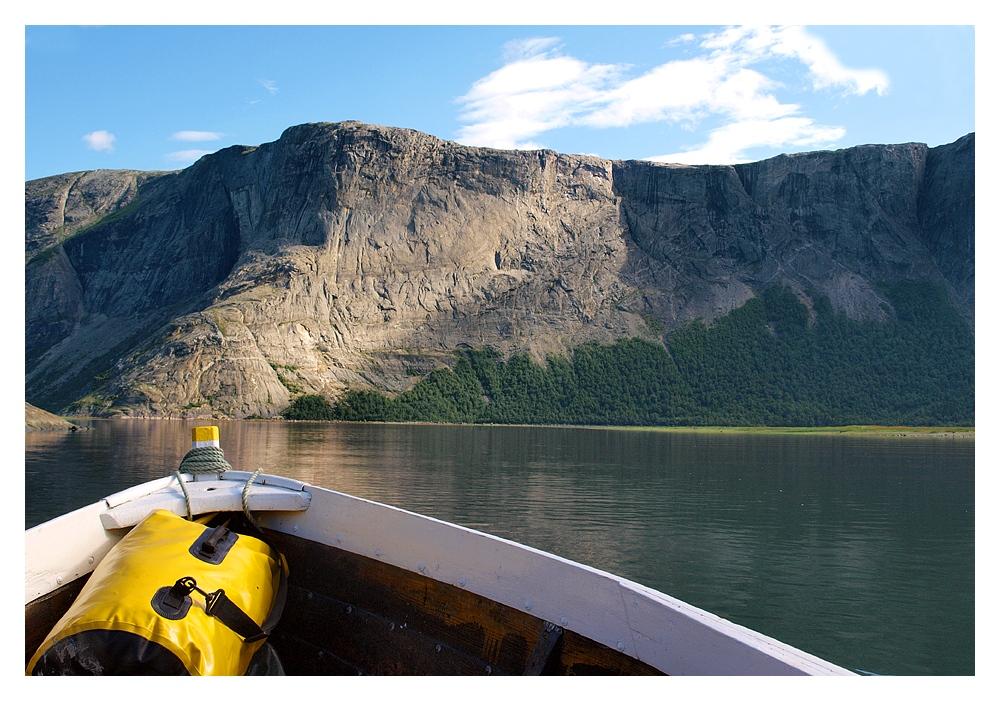 Eine Fahrt durch den Beiarnfjord (2)