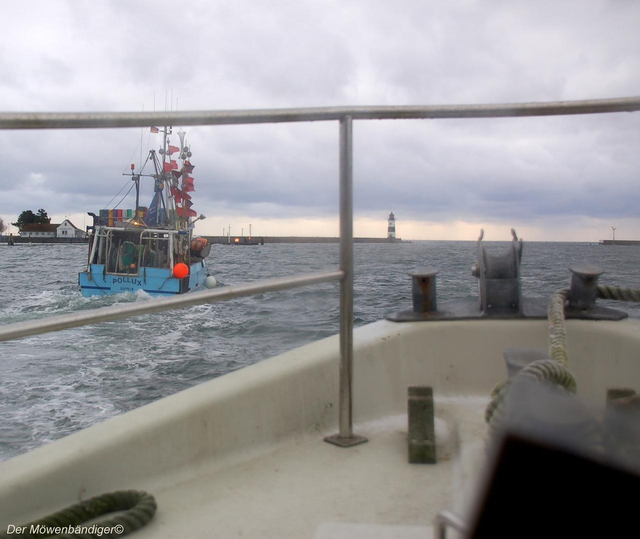 Eine Fangfahrt beginnt