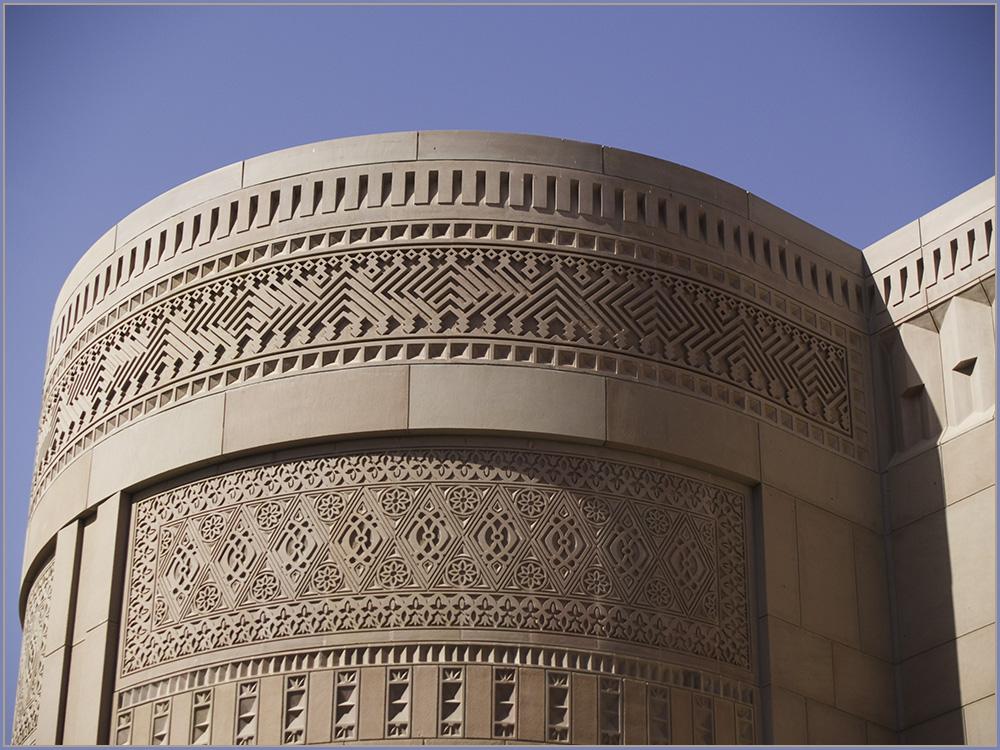 Eine fast unglaubliche Fassadengestaltung.