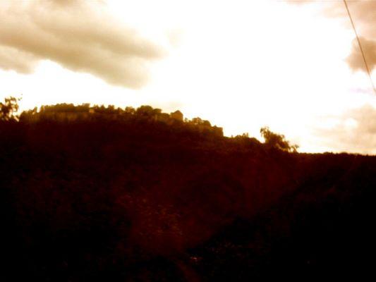 eine Festung im Elbtal
