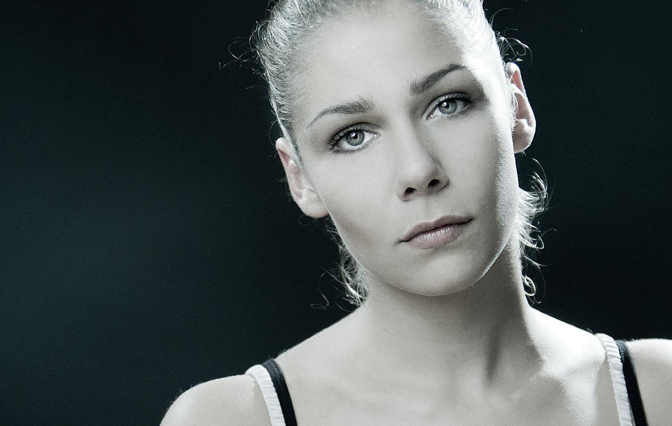 Eine Frau aus der leipziger Szene