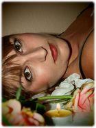 Eine Freundin, von meinem gestrigen Fotoshooting mit ihr..