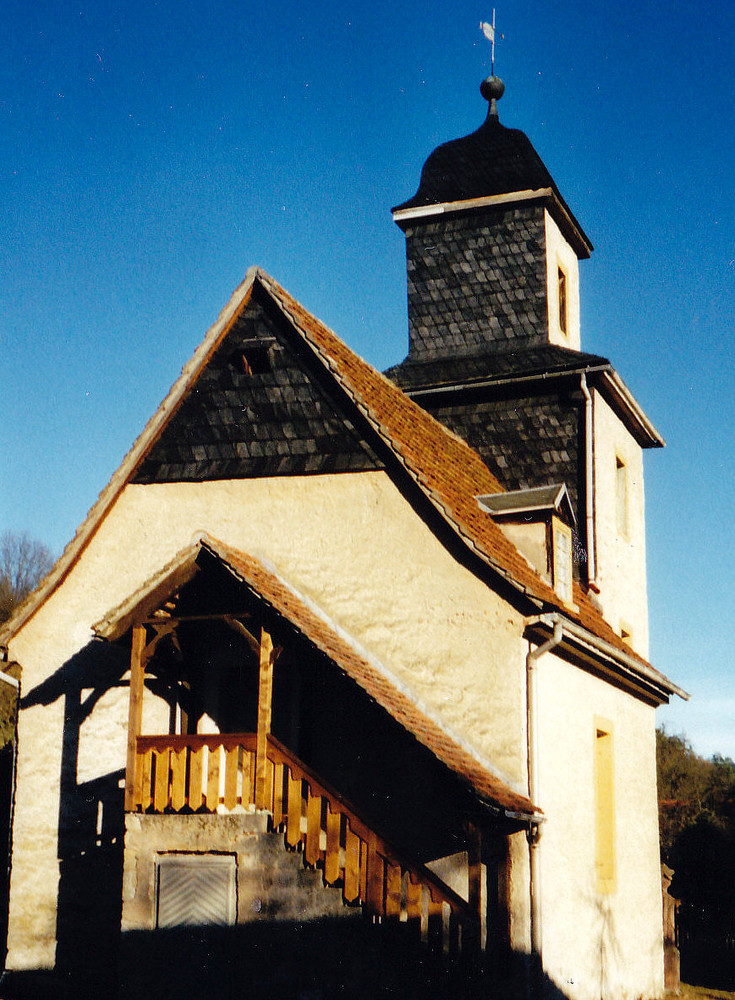 Eine für Ostthüringen typische Dorfkirche