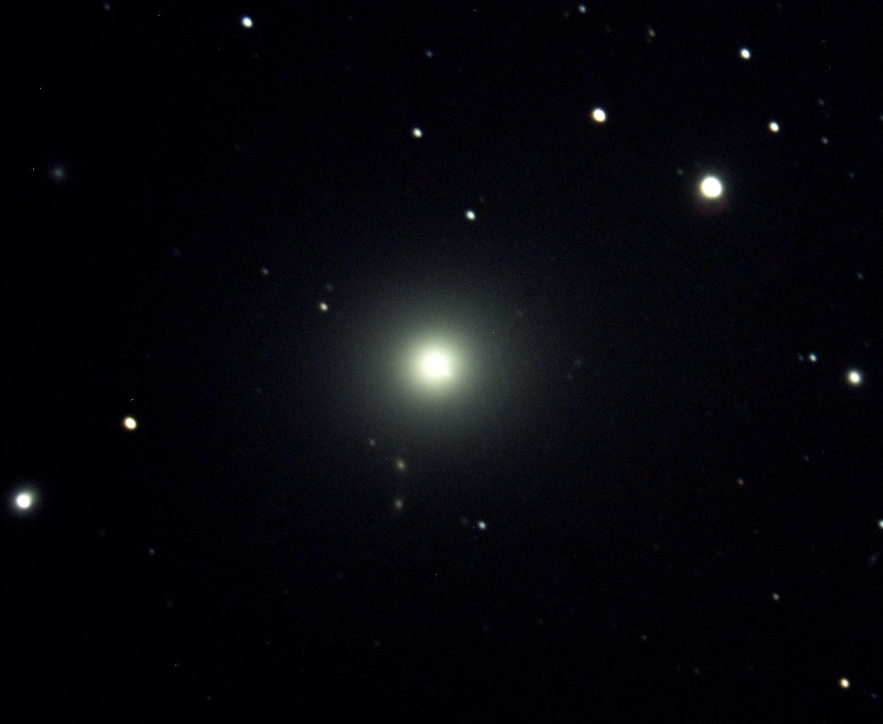 Eine Galaxie der Superlative- M87