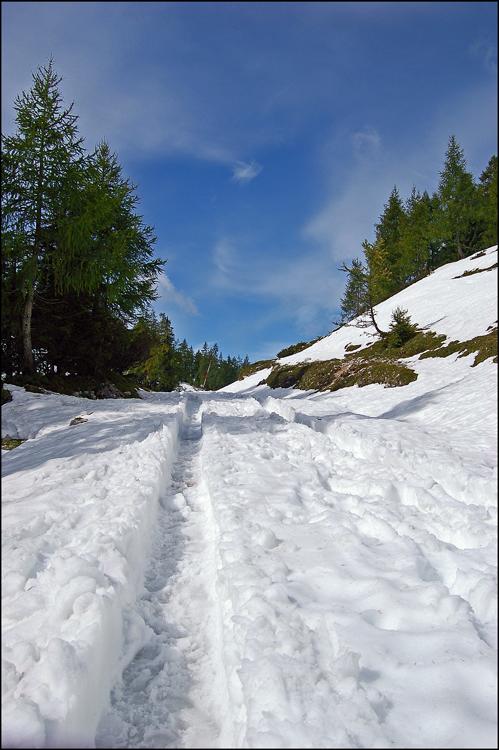 Eine ganz schöne Menge Schnee...
