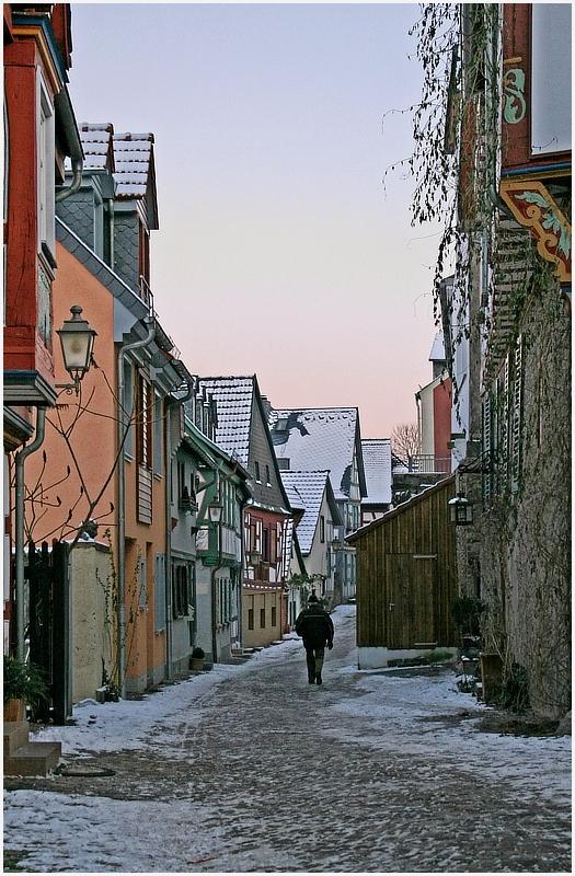 Eine Gasse in Idstein