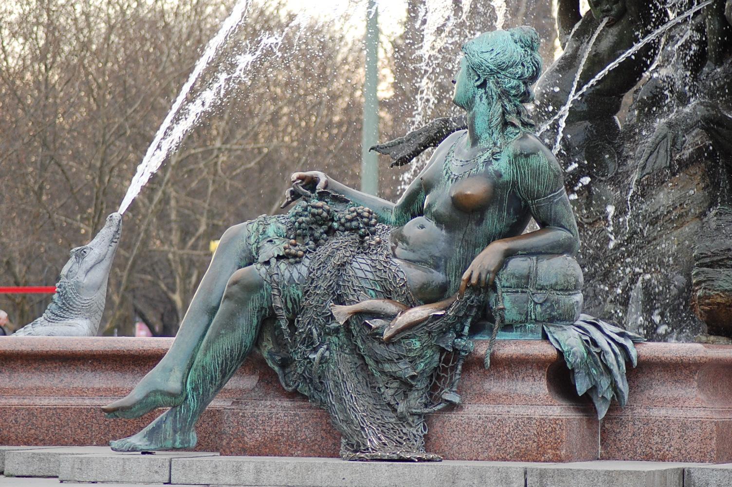 eine Gespielin Neptuns