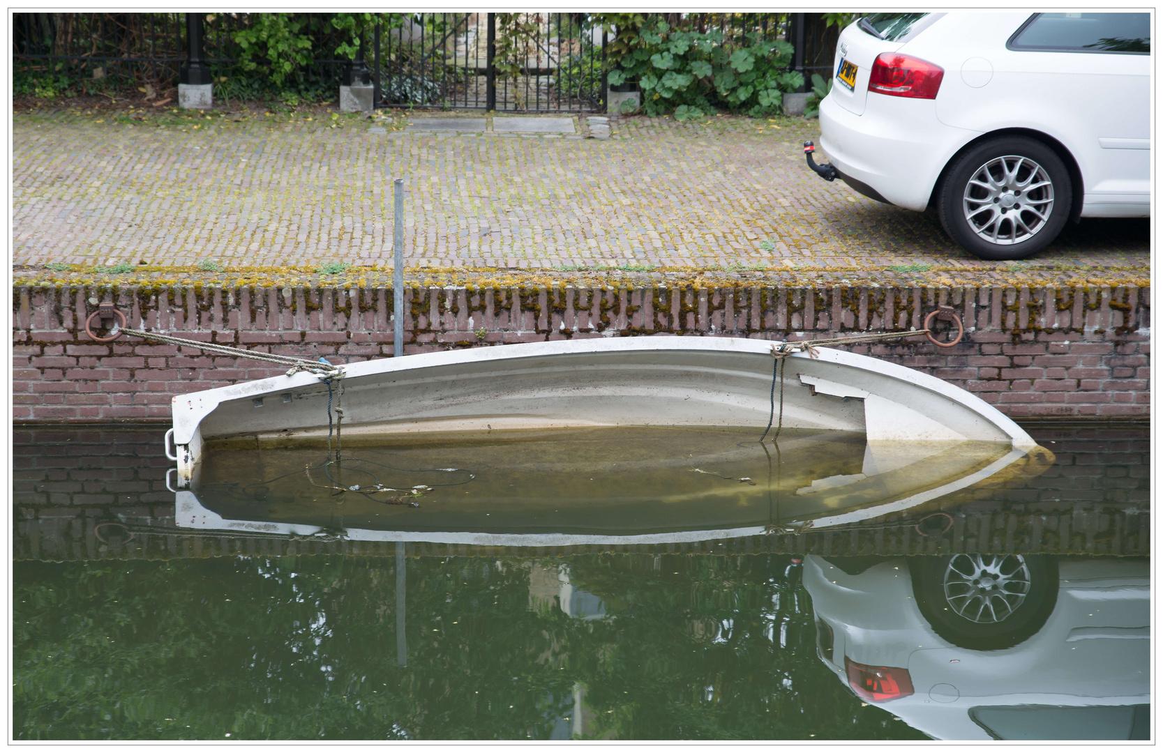 Eine handbreit Wasser unter dem Kiel