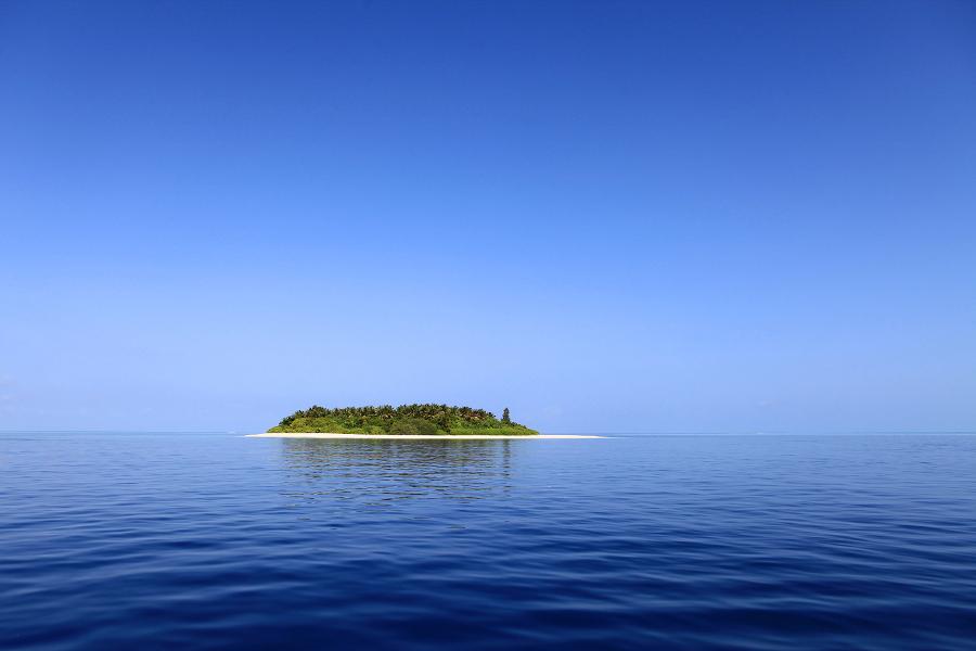 Eine Insel