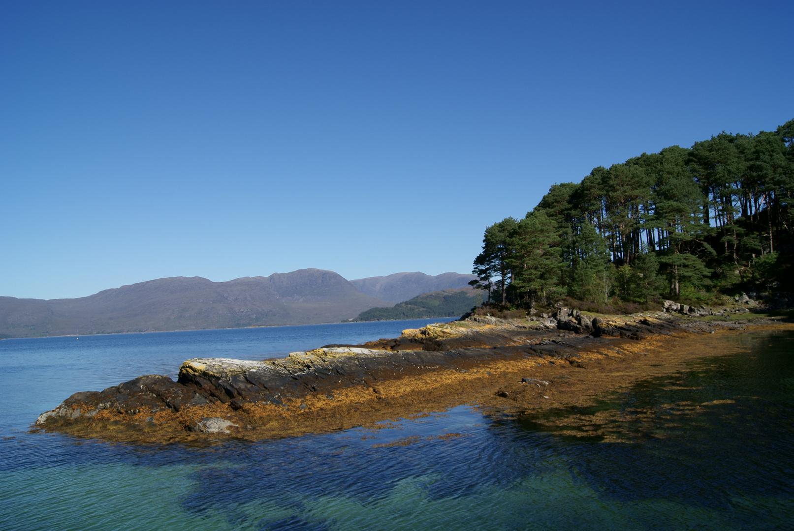 Eine Insel in Schottland