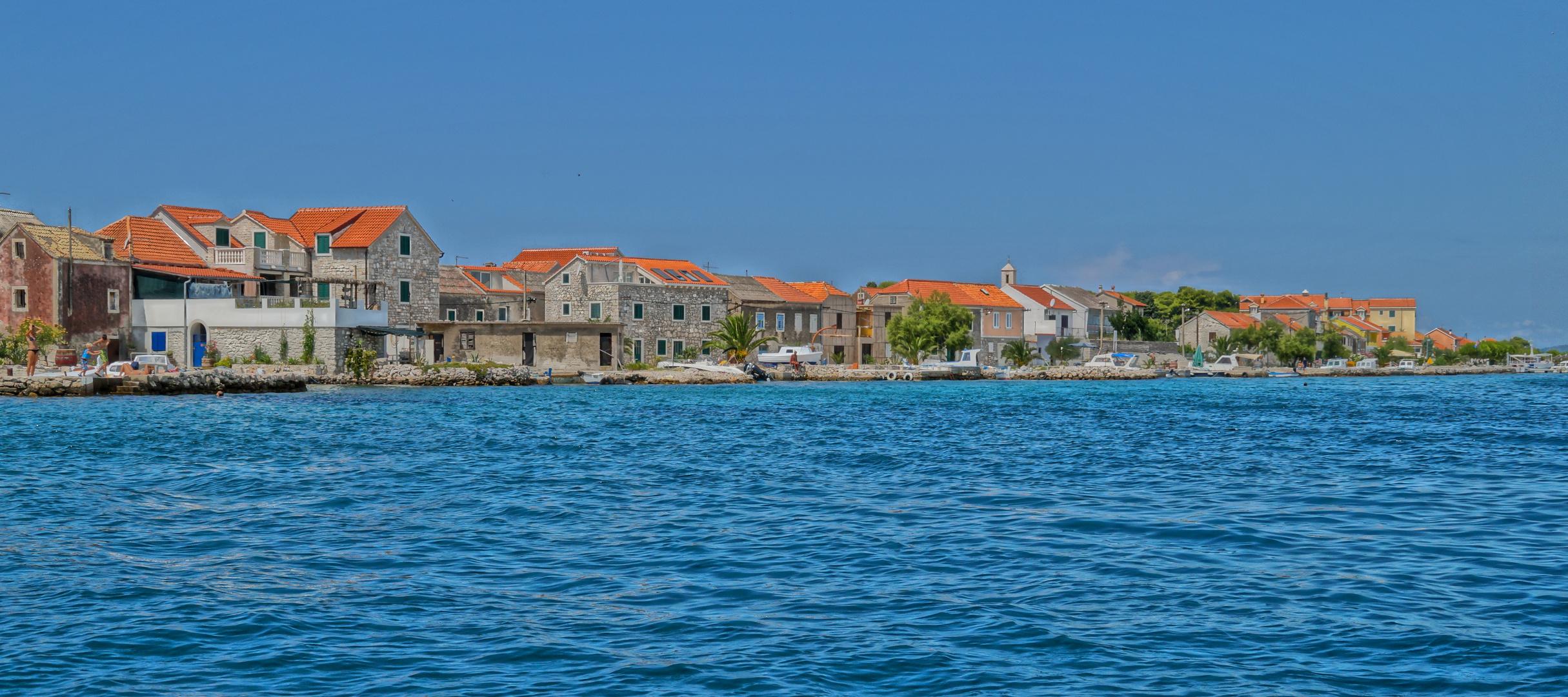 Eine Insel wie gemalt....Otok Krapanj